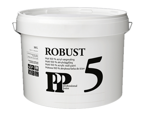 PP Robust 5 Vægmaling