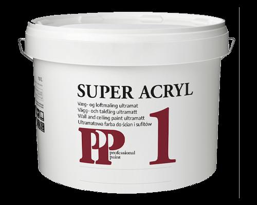 PP Super 1 Acryl Loft- og Vægmaling