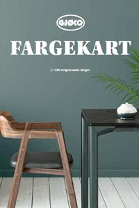 Farvekatalog indendørs fra Gjøco
