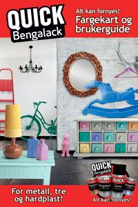 Quick Bengalack Farvekort