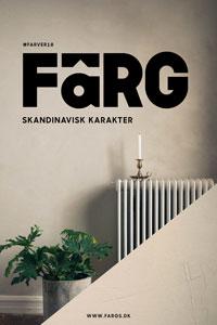 FäRG Skandinavisk Karakter - Farvekort FARVER18