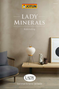 Lav de fedeste vægge med Jotun Lady Minerals Kalkmaling