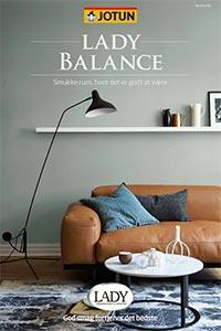 Find farver til Jotun Lady Balance til dig der ønsker et sundt indeklima