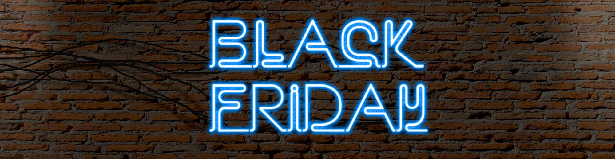 Tilmeld dig de vilde Black Friday tilbud