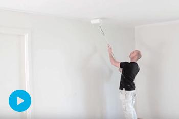 Sådan maler du loft