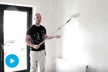 Sådan maler du vægge